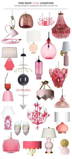 The Best Pink Lighting | Making it Lovely | Bloglovin'
