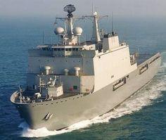 L 800 HNLMS Rotterdam - Rotterdam Class Landing Platform Dock - Amphibious Transport Ship - Royal Netherlands Navy - Koninklijke Marine.