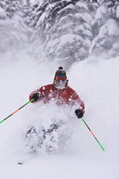 Every cell in me remembers how absorbed I felt into the rhythm of a powder day.