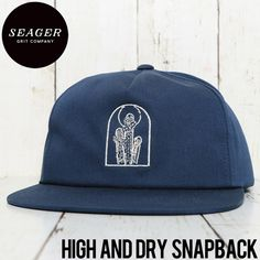 SEAGER シーガー HIGH AND DRY SNAPBACK CAP スナップバックキャップ | BRAND,SEAGER | LUG Lowrs