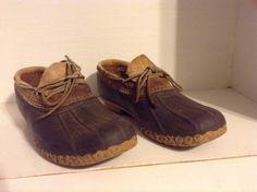 Vintage Estate LL Bean Shoe Boots Old School Men s 8 Barn Find Maine  Authentic  LLBean 08734cff0