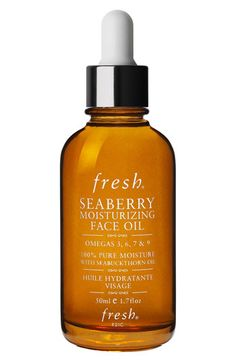 Fresh® Seaberry Moisturizing Face Oil - Smells so good but made me break out. I'm giving it another try in case it was really my make up primers fault.