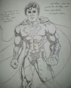 Superman sketch part 2