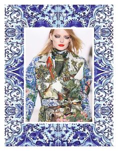 Autumn/Winter 21/22 Print Trend - Decorative Borders - Patternbank Modern Fashion, Fashion Show, Fashion Trends, Ethnic Patterns, Print Patterns, Autumn Winter Fashion, Fall Winter, Outing Outfit, Decorative Borders