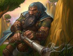 "Dwarf Sniper by Stanley ""Artgerm"" Lau                                                                                                                                                      More"