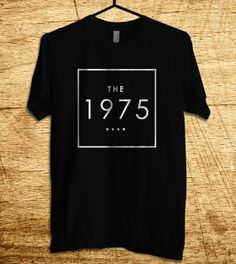 The 1975 Band T Shirt Men T Shirt Clothing T Shirt by MalaAkfa, $17.00