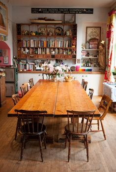 7 Cheap And Easy Diy Ideas: Natural Home Decor Rustic Decoration simple natural home decor rugs.Natural Home Decor Boho Chic Living Spaces natural home decor rustic decoration.All Natural Home Decor Floors. Dining Room Design, Dining Area, Kitchen Dining, Small Dining, Wooden Kitchen, Dining Tables, Farm Tables, Big Kitchen, Cosy Dining Room