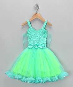 Take a look at this Mint Angel Dress - Infant, Toddler & Girls by Fairy Dreams on #zulily today!