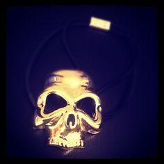 #skull #skullfashion by @hm #hairclip