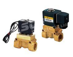 Estas válvulas normalmente cerradas (N.C.) trabajan a alta presión y alta temperatura, están diseñadas para diferentes fluidos (aire, agua, aceite). vienen con conector DIN.