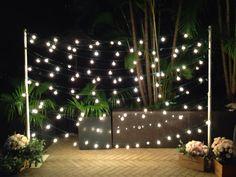 Night light backdrop...