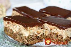 A Nagyi tud valamit! Pie Recipes, Sweet Recipes, Dessert Recipes, Cooking Recipes, Salty Snacks, Hungarian Recipes, Christmas Baking, Cake Cookies, No Bake Cake