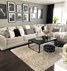 Repost from Living room inspiration ? Repost from Living room inspiration. Warm Home Decor, Living Room Decor Cozy, Living Room Goals, New Living Room, Living Room Modern, Living Room Interior, Home And Living, Living Room Designs, Cozy Living Room Warm