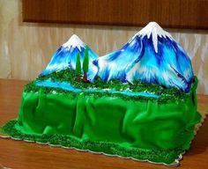 Торт гора Арарат на заказ