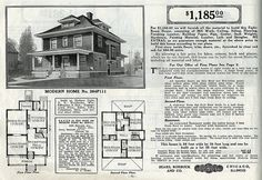 Historic Farmhouse Floor Plans | Collection: Historic House Plan Catalogs – Welcome to Flickr