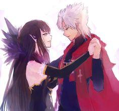 Semíramis and Amakusa Shirou