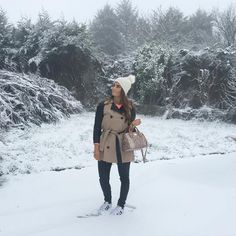 """She Prevails on Instagram: """"There's nothing more beautiful than the snow, even if it does make me late ❄️ #snowday #ireland #fashion #style #irishblogs #irishblogger"""" Ireland Fashion, Snow, Coat, Instagram Posts, How To Make, Beautiful, Style, Swag, Irish Fashion"""