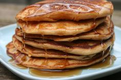 Recipe Shoebox: Peanut Butter Pancakes