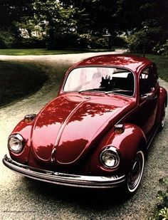 VW Beetle, Looks great in Red~!!