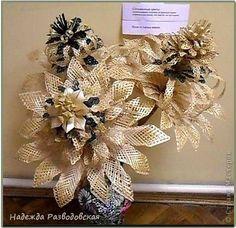 Producto de la artesanía Weave Flores de paja de cereales silvestres Straw foto 1