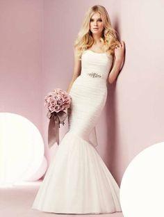 Fishtail style dress