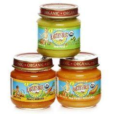 Earth's Best Organic 1st Vegetable Starter Kit, 2.5 Ounce Jars (Pack of 12), (organic baby food, earths best, baby food, organic, fruit, earth s best baby food, certified organic grocery, bpa, veggies, food)
