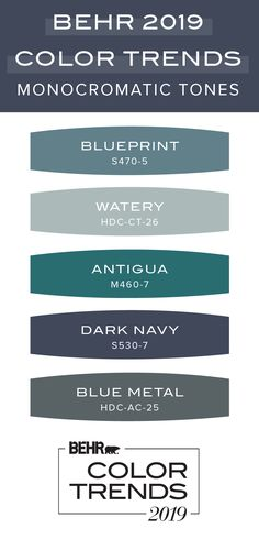 The Behr 2019 Color