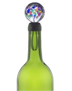 Look what I found at UncommonGoods: glass wine stopper...