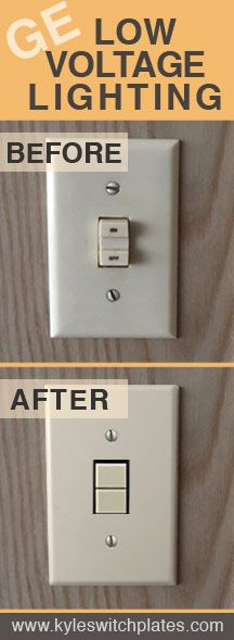 Low Voltage Light Switch : voltage, light, switch, Replacement, Parts, Voltage, Lighting, Switches,, Relays, Switch, Plates, Lighting,, Light, Covers,, Family, Update