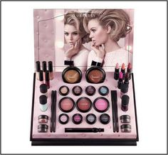 MAC Glamour Daze Holiday 2012 Collection – New Photos – Beauty Trends and Latest Makeup Collections Mac Makeup Looks, Best Mac Makeup, Latest Makeup, Cosmetics Display Stand, Cosmetic Display, Beauty Makeup, Hair Makeup, Hair Beauty, Makeup Inspo