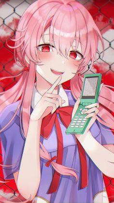 Yuno Gasai🔪🌹[Future Diary] (2250x4000)