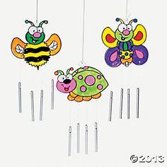 Bug Sun Catcher Wind Chimes - Oriental Trading