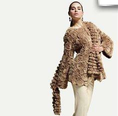 Удивительные сочетания вязания и меха - Ярмарка Мастеров - ручная работа, handmade