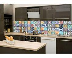 Küchenrückwand Glas - Azulejos Durch Anklicken wird das Abbildungsdetail angezeigt.