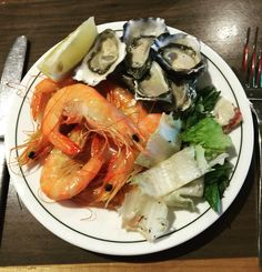 My seafoods plate