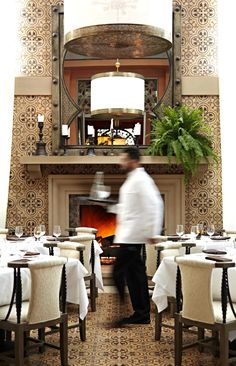 Martyn has overseen the design of Chateau Gütsch in Lucerne, Switzerland, and Chef Rick Bayless's flagship Red O restaurant; he is currently overseeing hotel… Oriental Hotel, Restaurant, Table Decorations, Red, Furniture, Design, Home Decor, Decoration Home, Room Decor