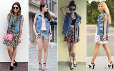 Colete jeans #verão