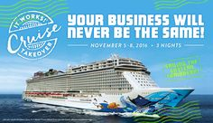 You could Join me and my team on this amazing ship! Its Bigger than Last year and Im getting on that Ship! I want to take you along the adventure with me! Message me 706-616-2949 or add me on facebook! Have You Tried That Crazy Wrap Thing?   It Works