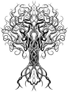Yggdrasil. The World Tree.