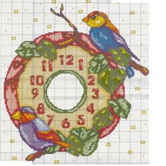 Cross Stitch Patterns, Owl, Kitty, Kids Rugs, Birds, Crafts, Clocks, Colour, Winter