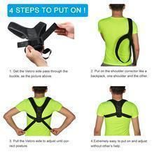 The Best Posture Corrector For Men and Women! The Top Posture A Back Brace For Posture and Mind. Our Zeowo Back Posture Corrector heals your back problems and your depression. Our Zeowo Posture Corrector is made of custom cushioning. Better Posture, Bad Posture, Shoulder Support Brace, Shoulder Brace, Shoulder Posture, One Shoulder, Postural, Scoliosis Exercises, Posture Support