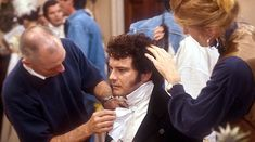 Colin Firth Behind the Scenes of Pride and Prejudice 1995