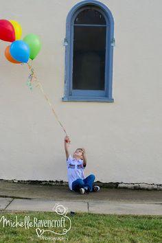 5th birthday...5 balloons