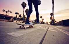 skateboarding LA style. this is where i'd love to be!