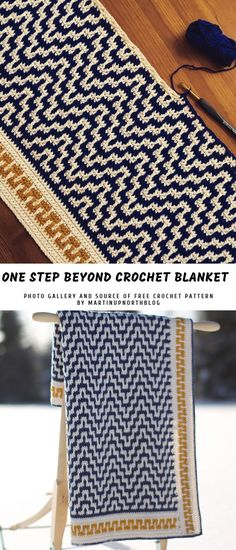 One Step Beyond Crochet Blanket with Free Pattern EDIT #freecrochet #pattern