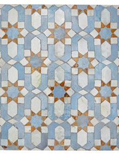 moroccan tile from mosaic house