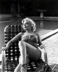 Marilyn by Harold Lloyd, 1953.
