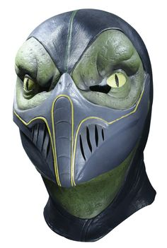 Reptile Adult Costume Mask