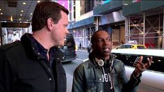 Watch Willie Geist's behind-the-scenes tour of 'Hamilton' with star Leslie Odom Jr. - TODAY.com