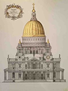 Monumental Architecture, Cathedral Architecture, Classical Architecture, Historical Architecture, Beautiful Architecture, Architecture Details, Monuments, Arch Building, Architecture Drawing Art